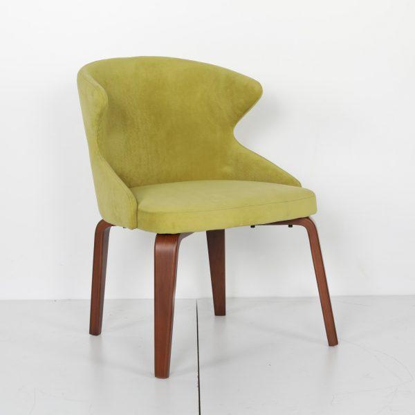 Cafe Sandalyesi Ahşap Ayaklı Sabina