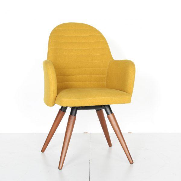 Cafe Sandalyesi Ahşap Ayaklı Vito