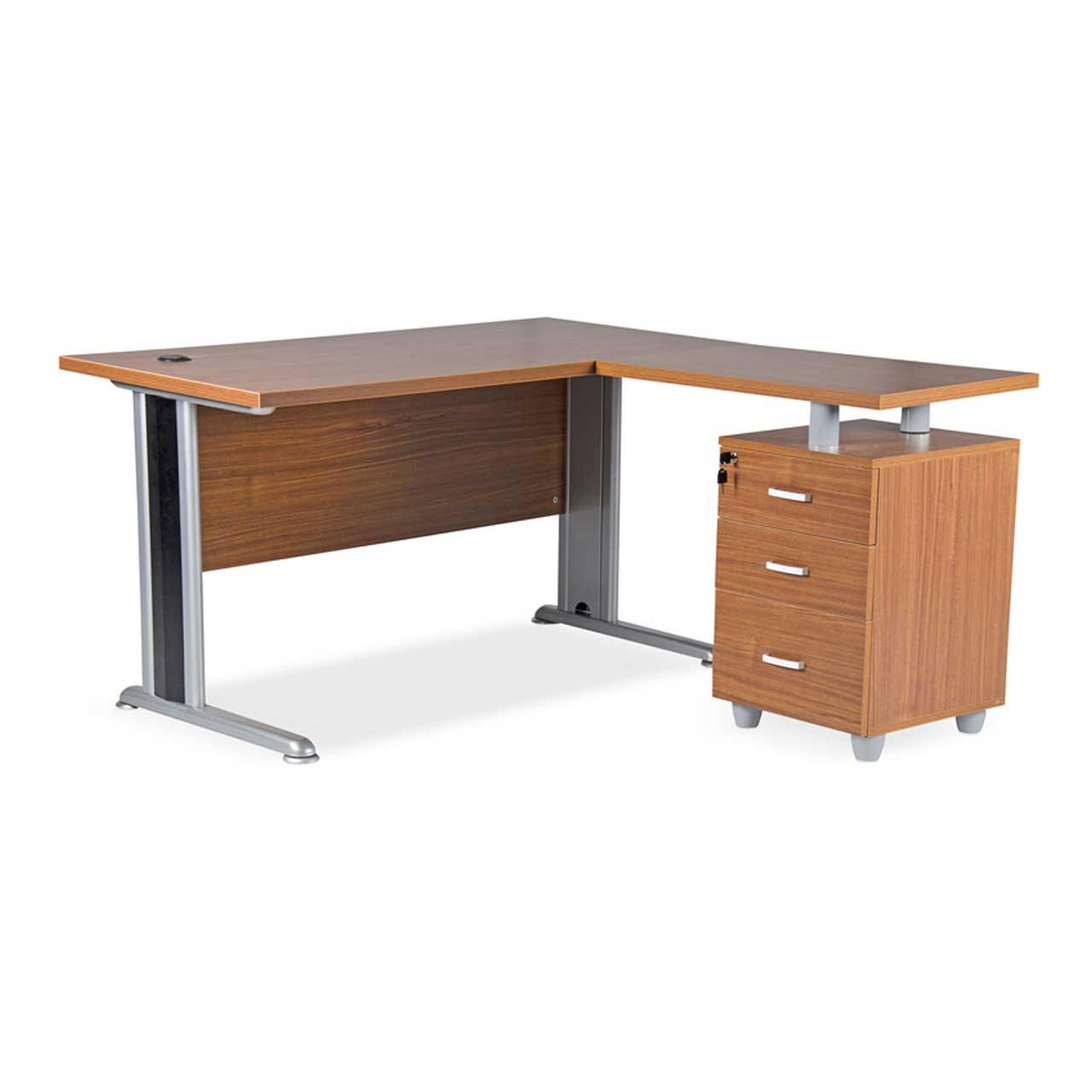 Eterjerli Ofis Çalışma Masası Özgür