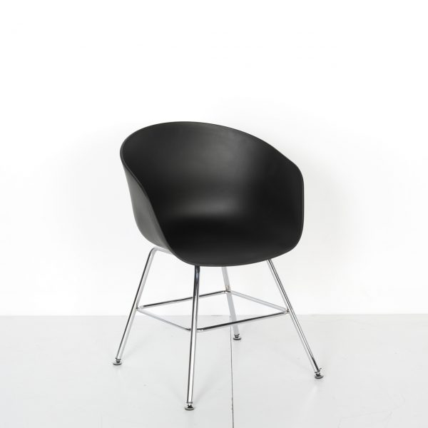 Krom Çerçeve Ayaklı Plastik Sandalye Solid 22