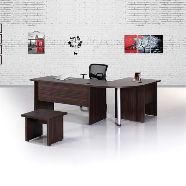 Ofis Masası L Şeklinde Fırat