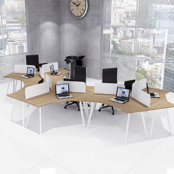 Workstations Üçlü Çalışma Masaları